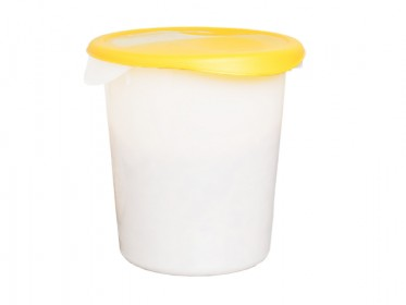 Recipiente Redondo Para Alimentos Con Tapa 7.6 Litros Rubbermaid FG572400WHT Blanco