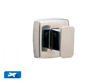 Bobrick B-7671 Gancho de Pared Acero Inoxidable con Pulido Brillante